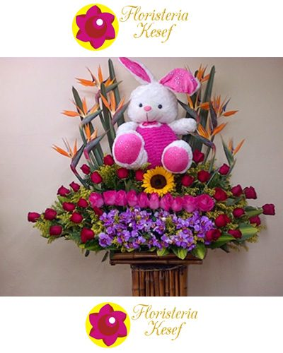 Flores y Peluches 3