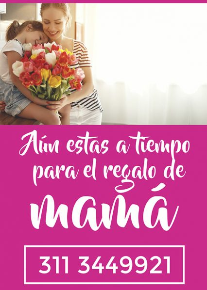 Feliz dia de las madres - floristeria kesef 3